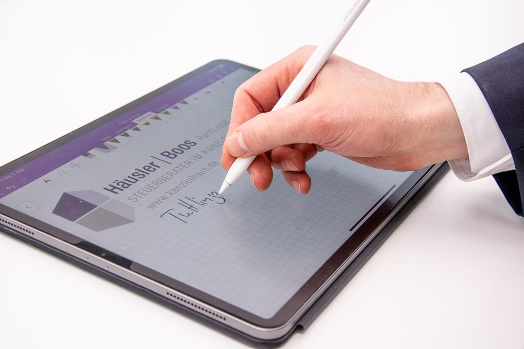 Kompetenzen Mandantenservice Mediathek Tablet Haeusler Boos Steuerberater PartG mbB